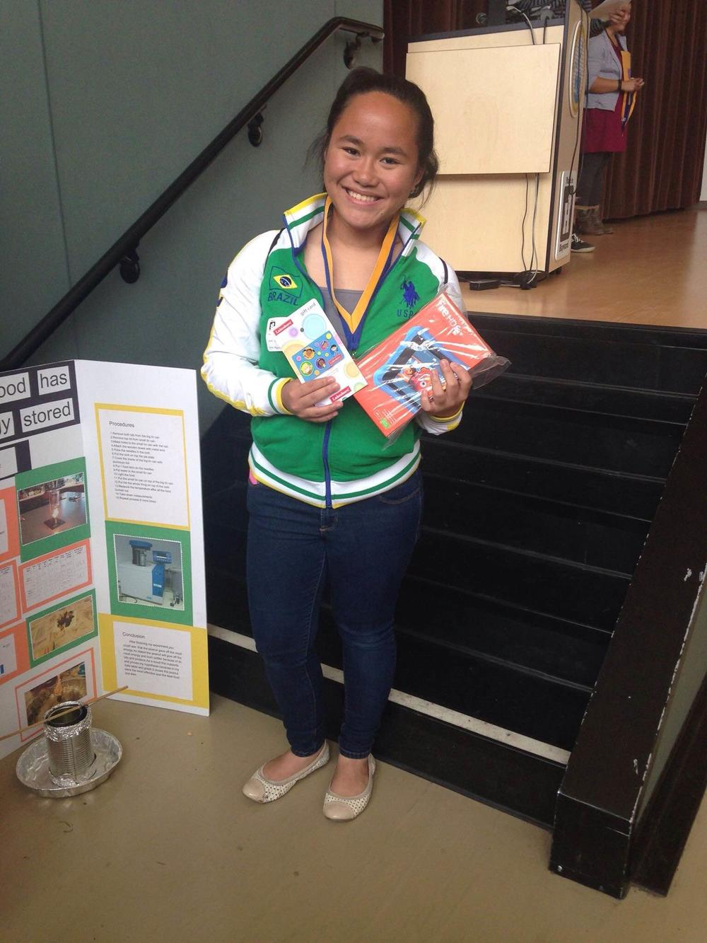 MLK Science Fair Winner