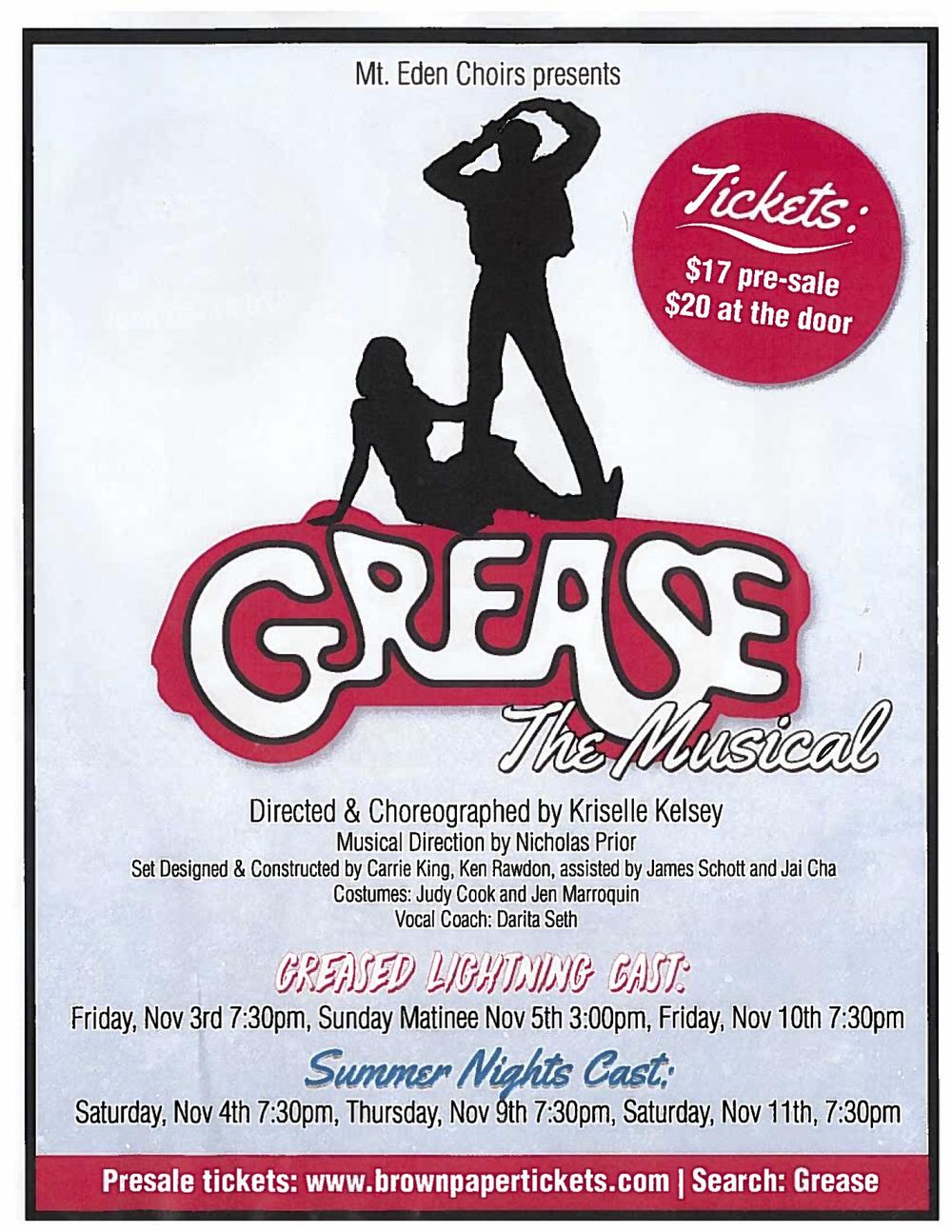 MLKing - Grease the Musical